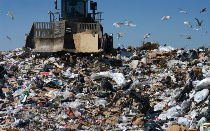Every year, Americans create around 1/5 of the world's trash.