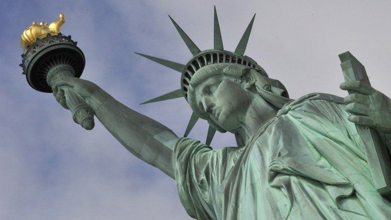 In 1916 the Statue of Liberty was damaged due to an explosion from World War 1. The torch sustained damage and was closed to the public and has not been open since.