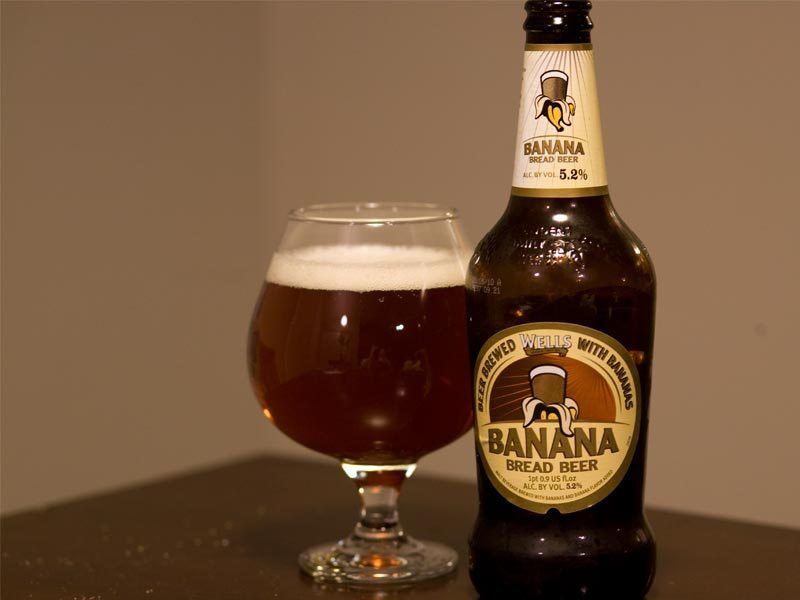 In eastern Africa you can buy beer brewed from bananas.