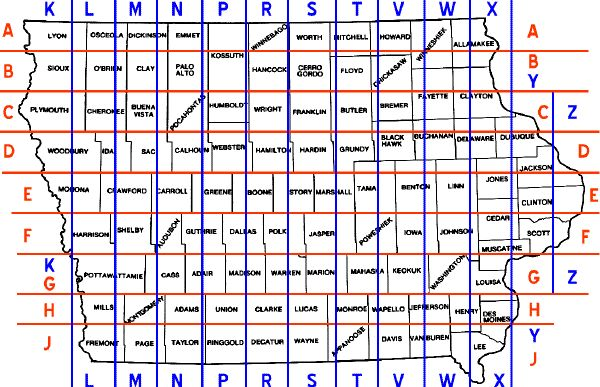 Iowa has a law that prevents new roads from being constructed diagonally. They want every road to be in a cardinal direction.