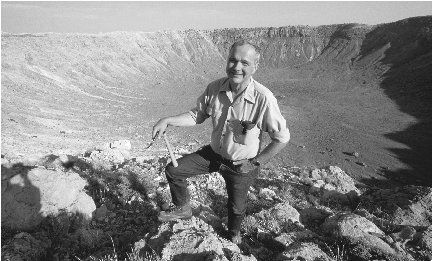 Eugene Shoemaker is the only person whose ashes have been buried on any celestial body outside Earth.