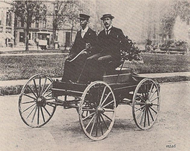 """On this date, March 6, 1896, Charles Brady King drove the first automobile in Detroit, several months before Henry Ford piloted his first car. The following day, the Detroit Free Press reported: """"The first horseless carriage seen in this city was out on the streets last night."""