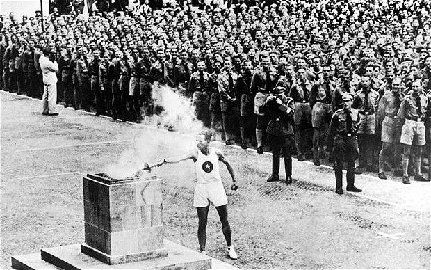Commonly mistaken as an ancient Greek tradition, the Olympics torch relay was actually a Nazi idea.