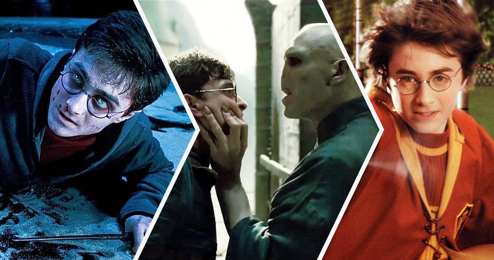 Daniel Radcliffe, who played Harry Potter, was allergic to Harry Potter's iconic glasses.