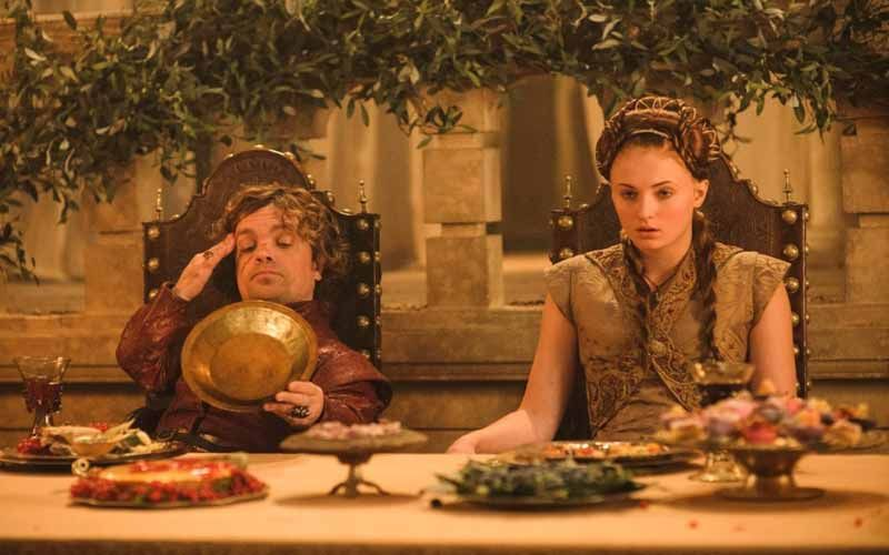 Peter Dinklage is a very strict vegetarian, and every time you see him eating meat on 'Game of Thrones', he is actually eating tofu.