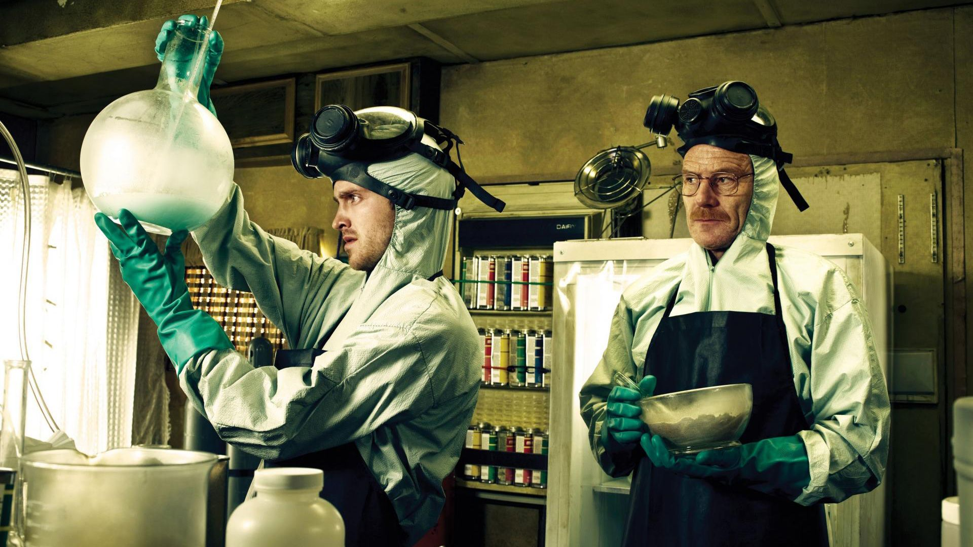 All the blue meth in Breaking Bad was actually blue hued rock candy.