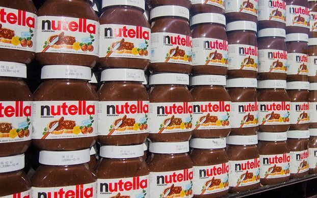 You could cover the Great Wall of China 8 times with the number of jars of Nutella sold in a year.