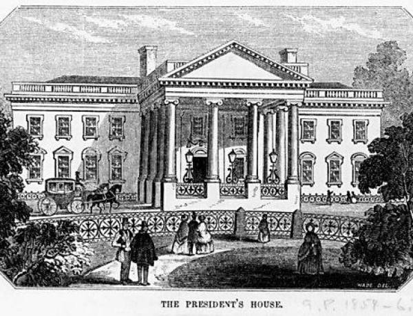 The first US President to live in the White House was John Adams ( the second President of the USA). Adams and his family moved to the White House in 1800.