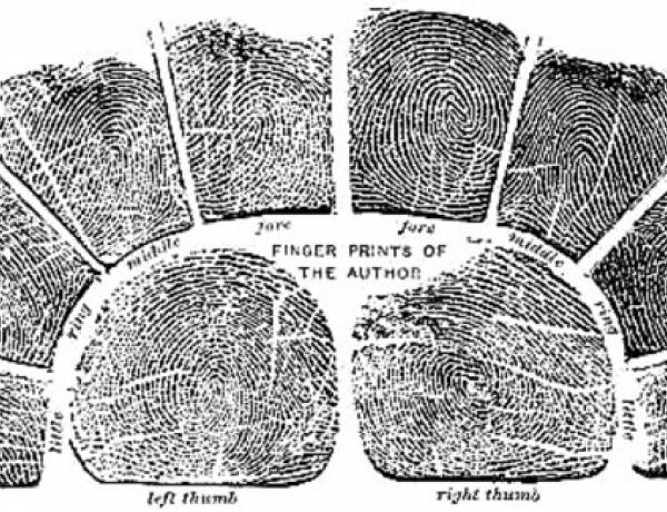The Chinese used fingerprints as a method of identification as far back as AD 700.