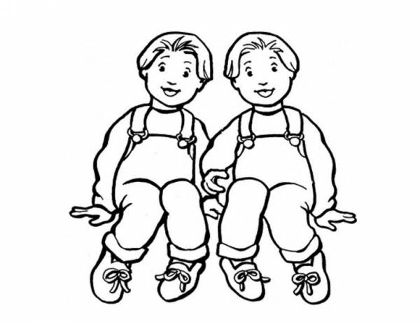 While children of identical twins are legally first cousins, genetically, they are actually half siblings.
