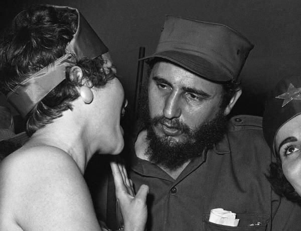 Fidel Castro has slept with over 35,000 women.