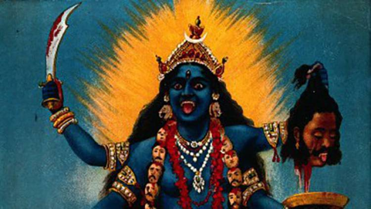 The Rolling Stones' tongue logo design was inspired by the Indian Hindu goddess Kali The Destroyer.