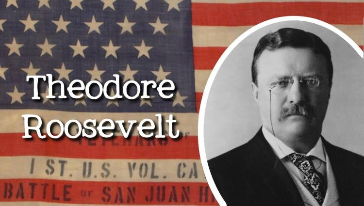 """When US president Theodore Roosevelt died in his sleep in 1919, the sitting vice president, Thomas R. Marshall, said: """"Death had to take Roosevelt sleeping, for if he had been awake, there would have been a fight."""