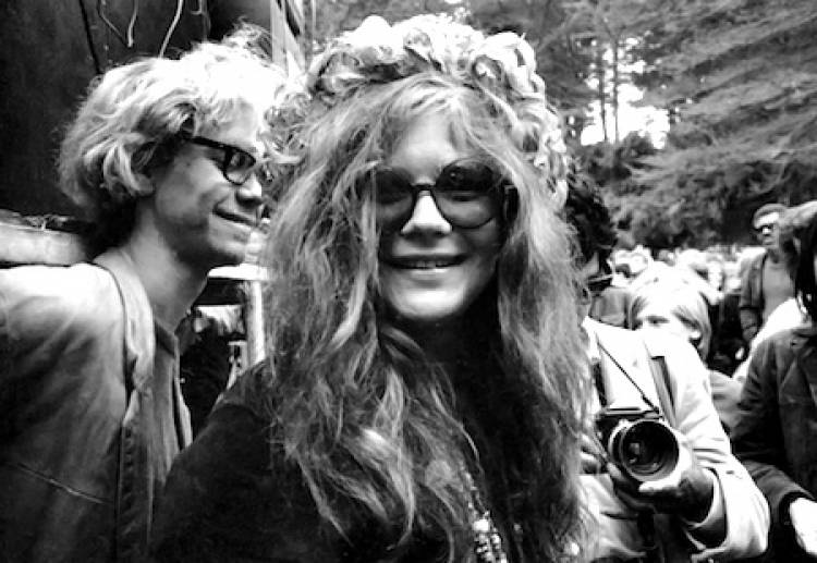 """Janis Joplin left $2,500 in her will for her friends to """"have a ball after I'm gone""""."""
