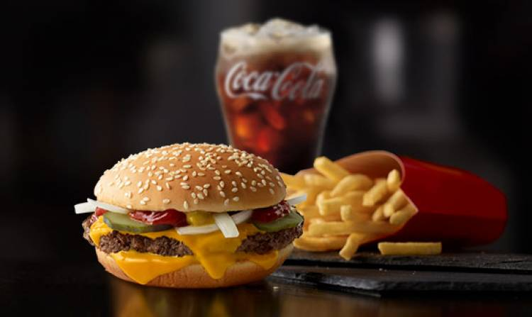 """McDonalds calls frequent buyers of their food """"heavy users""""."""