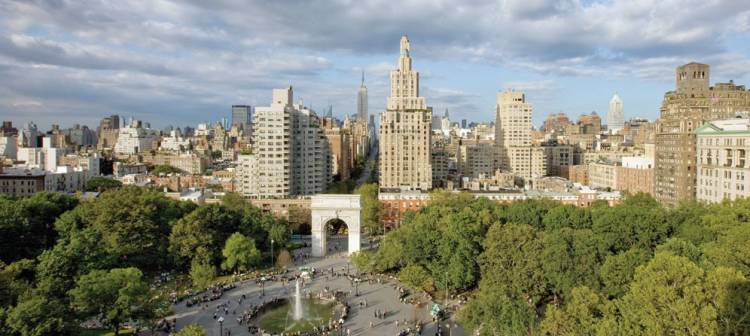 Washington Square in New York used to be a cemetery with over 20,000 people buried there.