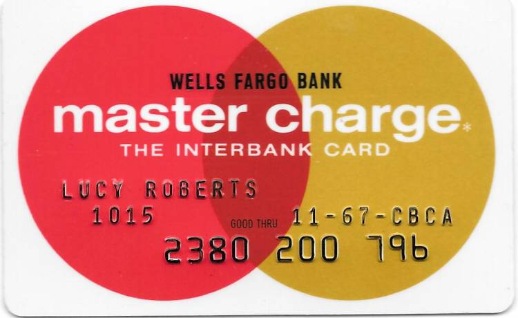 Mastercard was originally called mastercharge