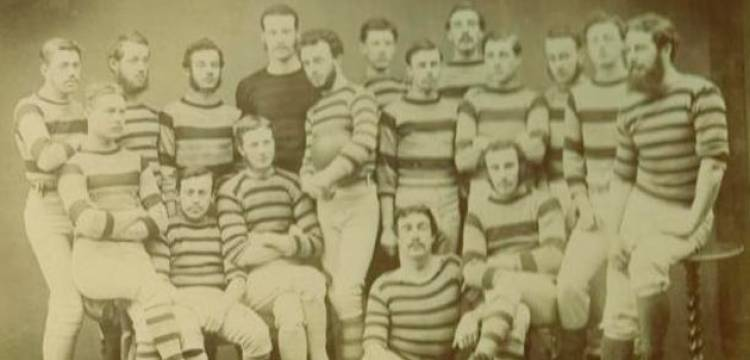 The first rugby club was formed in 1843