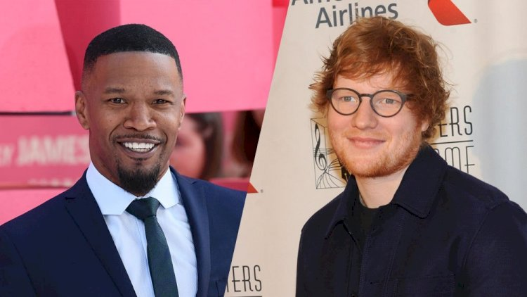 Ed Sheeran bought a ticket to LA with no contacts. He was spotted by Jamie Foxx, who offered him the use of his recording studio and a bed in his Hollywood home for six weeks.