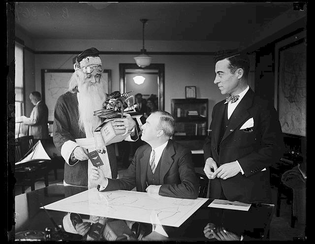 Santa Claus was issued a pilot's license from the U.S. government in 1927. They also gave him airway maps and promised to keep the runway lights on.