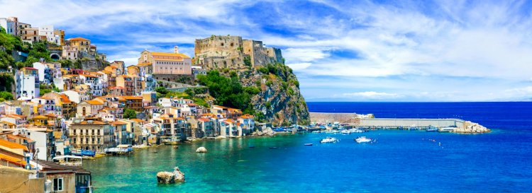 The largest island in the Mediterranean Sea is Sicily.