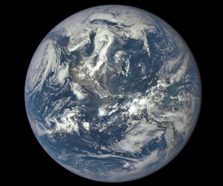 The diameter of Earth is 12,756 km (7,926 miles).