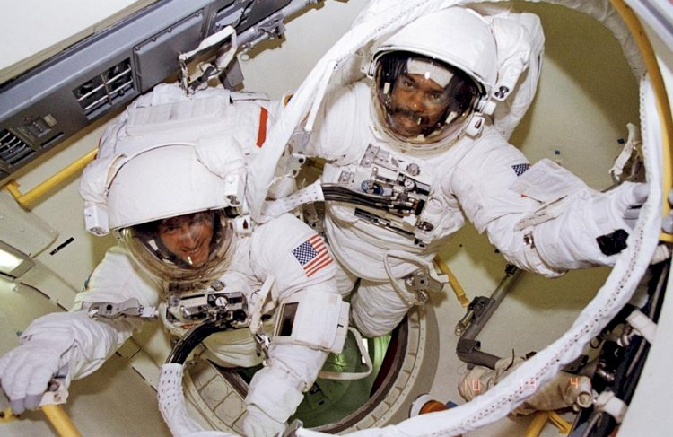The first African-American to walk in space was a UH(University of Houston) alum, Bernard Harris.