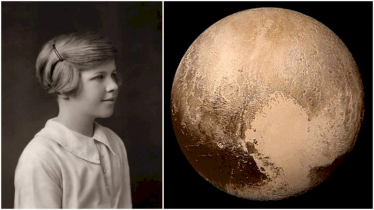 Pluto was named by an 11 year old girl named Venetia Burney.