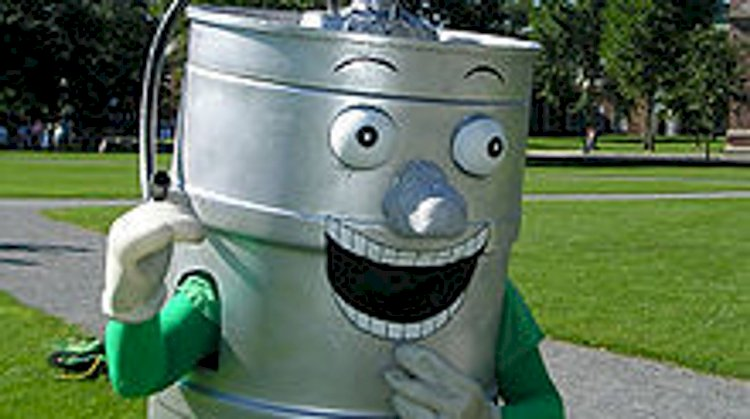 "Dartmouth's unofficial mascot is a beer keg called ""Keggy the Keg"". Created in 2003, it was initially controversial but is now part of the Dartmouth culture."