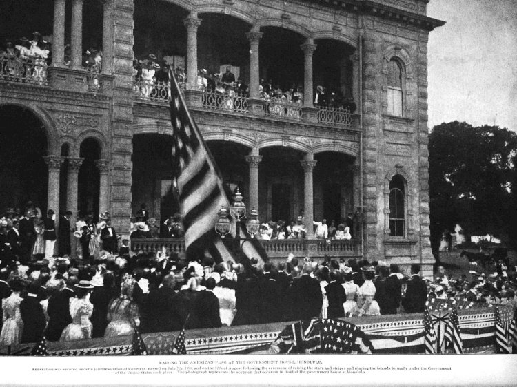Hawaii officially became a part of the U.S. on june 14 1900.