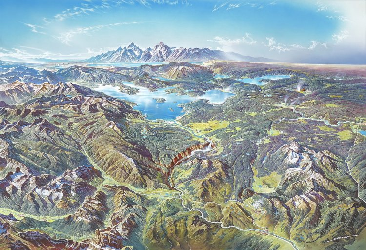 In 1872 Yellowstone in the U.S was the world's first National Park.