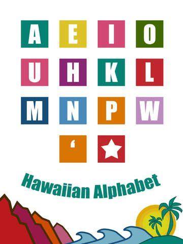The Hawaiian alphabet has 13 letters.
