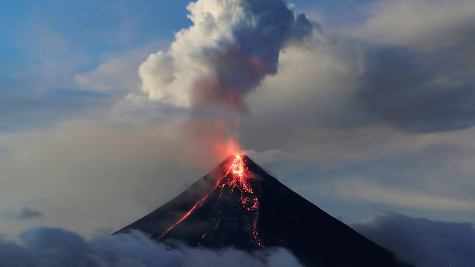 On any given day, as many as 10 volcanoes may be spewing ash or lava somewhere on Earth.