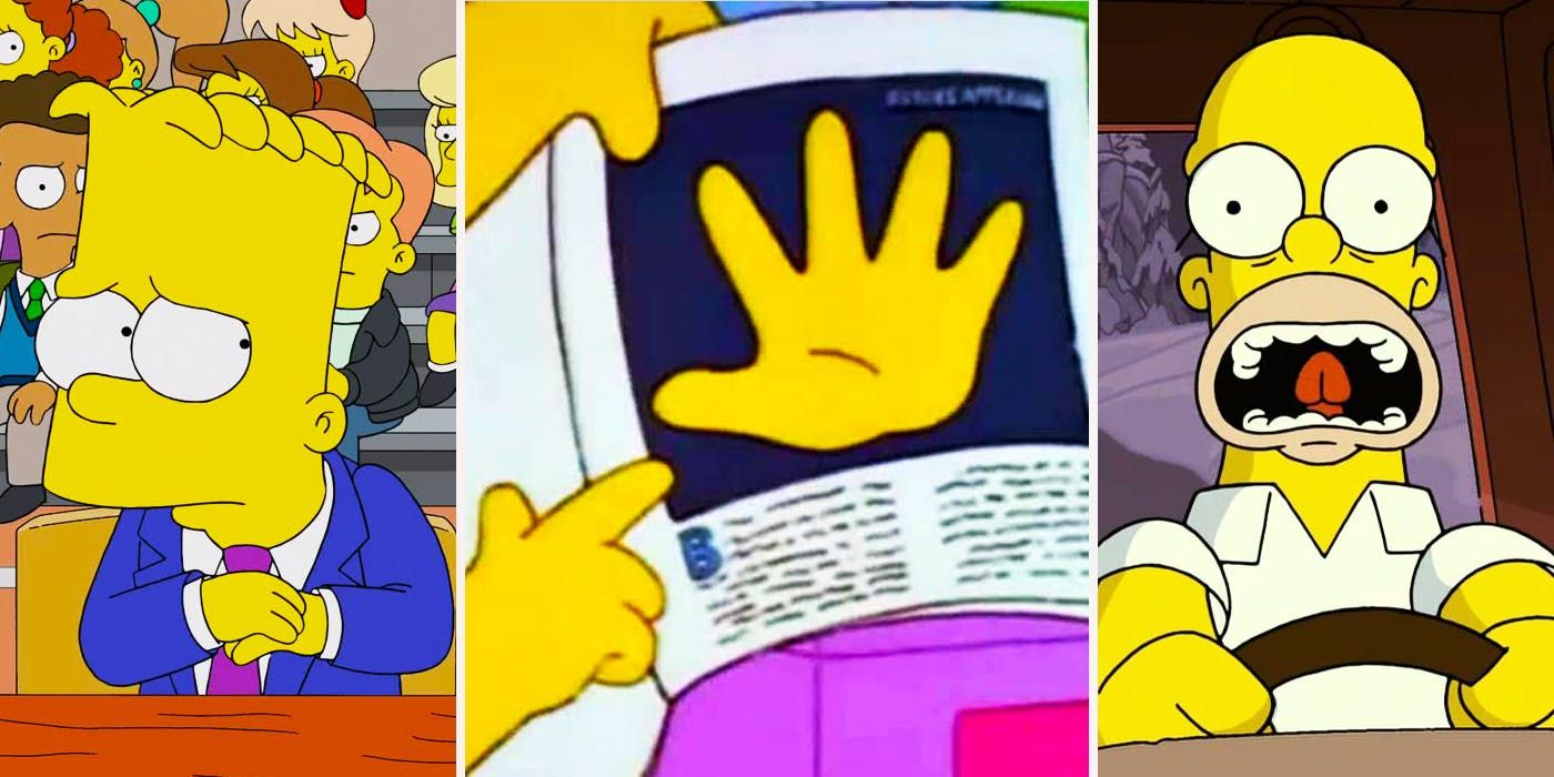 All of 'The Simpsons' characters have just 4 fingers on each hand, except for one character with 5 fingers, God.