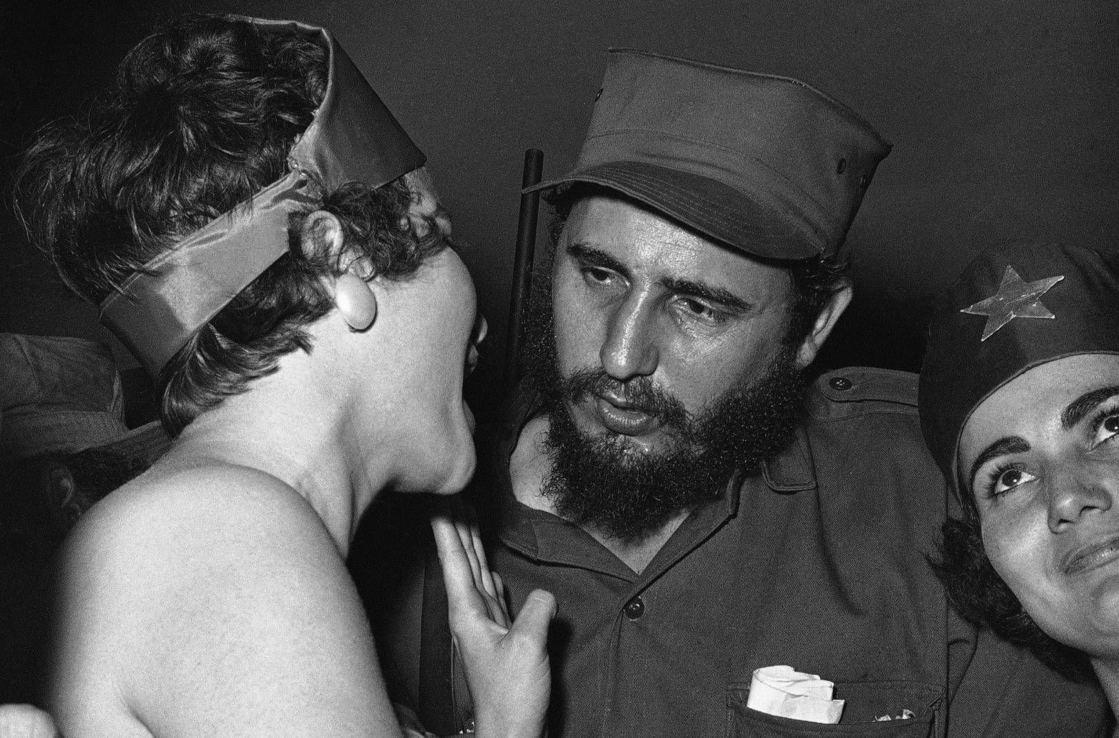 Fidel Castro has slept with over 35,000 women.