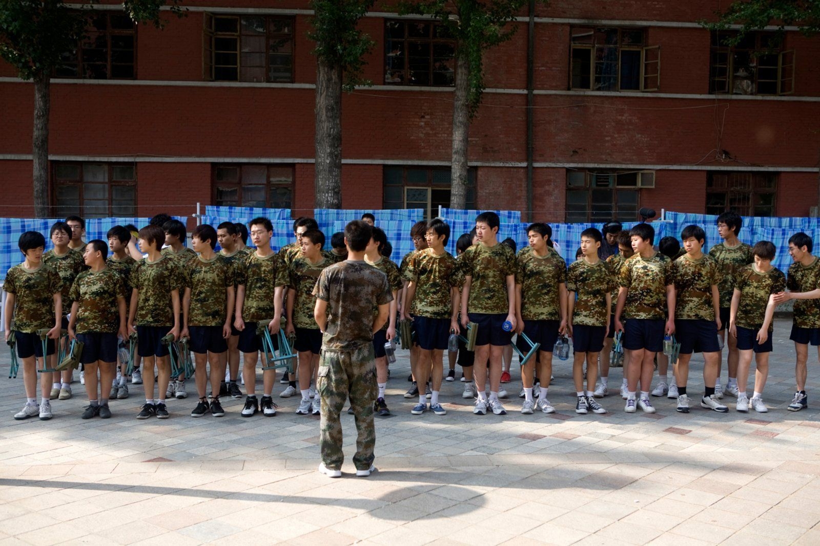 China has secret military-style boot camps for Internet addicts.