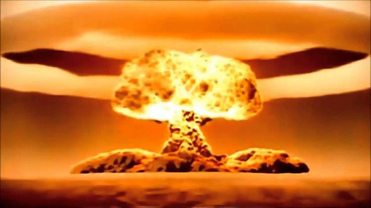 When signing up to iTunes, if you accept their Terms & Conditions, you agree to not use it to make nuclear weapons.