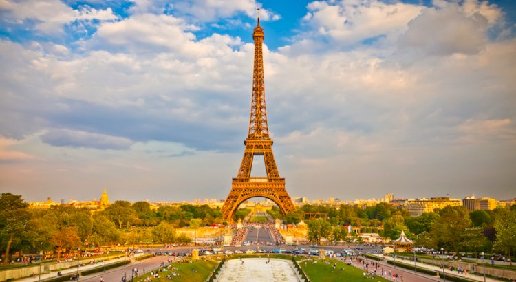 The Eiffel Tower is repainted every 7 years