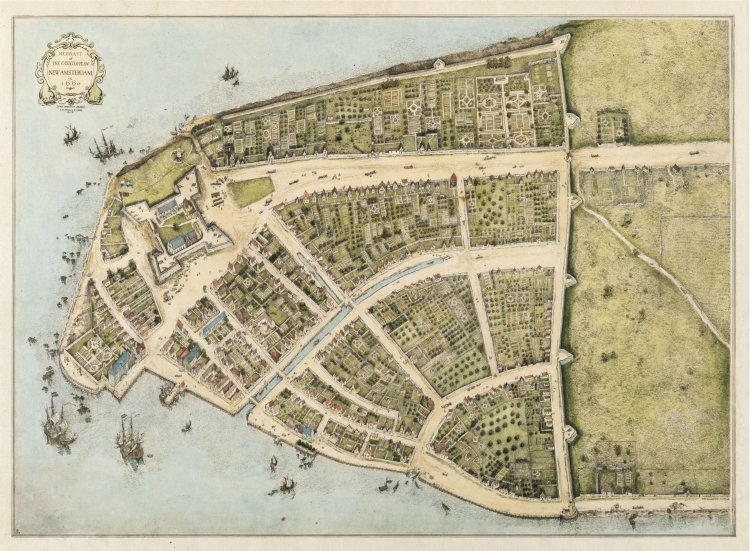 New York was once called New Amsterdam.