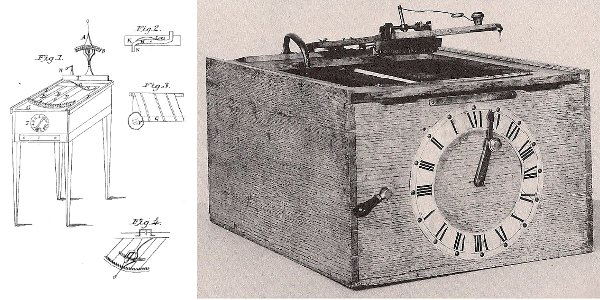 The typographer, America's first typewriter, was invented and made by William Austin Burt.